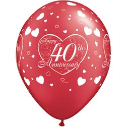 40 år bröllop Produkter Archive | Kalasexperten 40 år bröllop