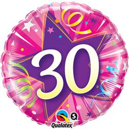 30 års födelsedag 30 års ballong 30 års födelsedag